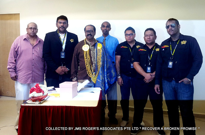 JMS Rogers at Singapore Indian Association